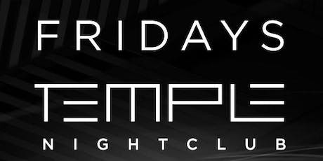 Temple Fridays tickets