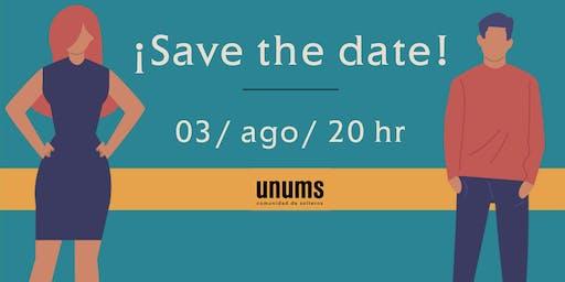 Lanzamiento UNUMS comunidad de solteros
