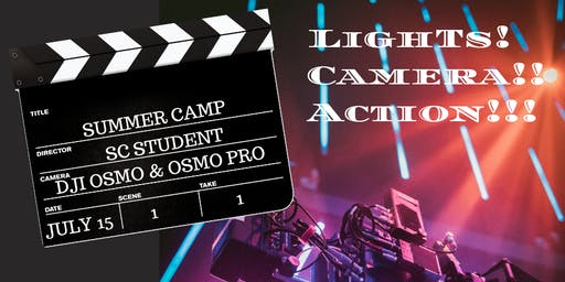 Lights! Camera!! Action!!! Summer Camp @St. James Day School