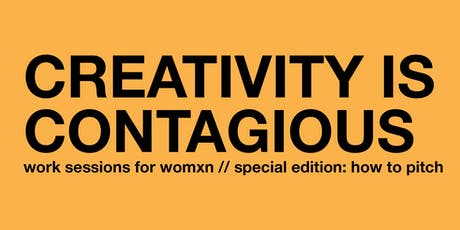 WSO Presents: Creativity is Contagious- Elevator Pitch Edition tickets