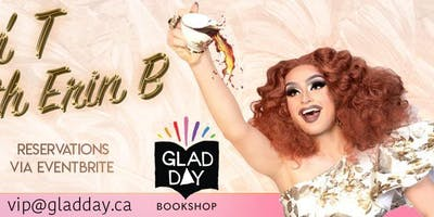 Drag Brunch at Glad Day with Erin Brockobić & Special Guest