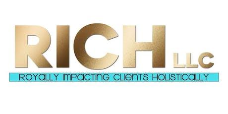RICH LLC Book Launch tickets