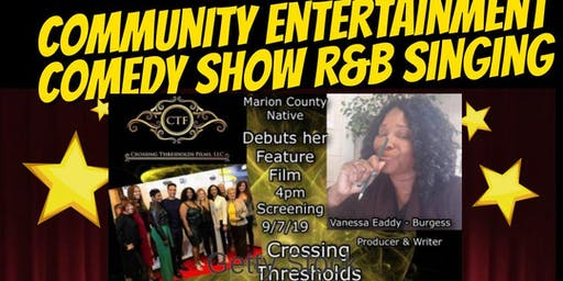Crossing Thresholds movie & Relay of Laughter comedy show