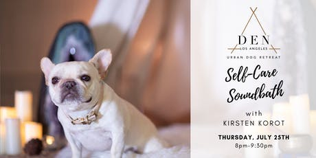 Self-Care Soundbath for You & Your Dog tickets