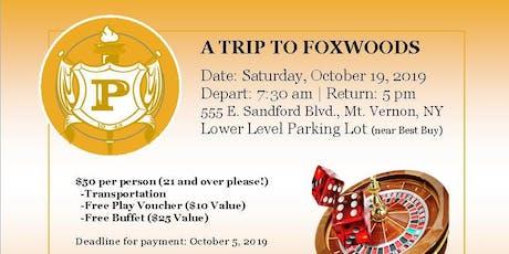 A TRIP TO FOXWOODS tickets