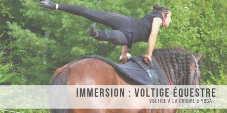 Immersion voltige équestre tickets