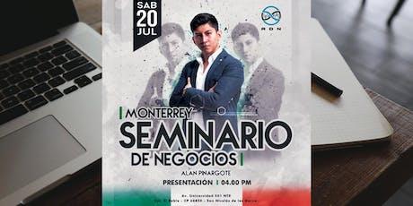 Seminario De Negocios -Monterrey boletos