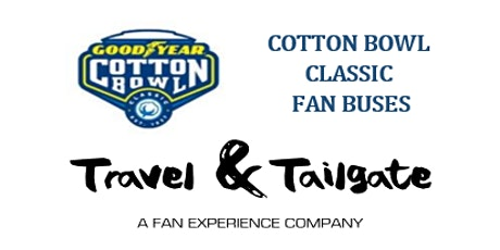 2019 Cotton Bowl  Transportation - Fan Bus Transportation to AT&T Stadium & Tailgates tickets