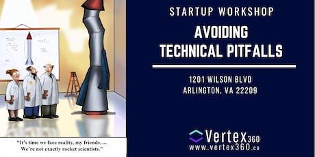 Startup & Tech Workshop - Avoiding Technical Pitfalls tickets