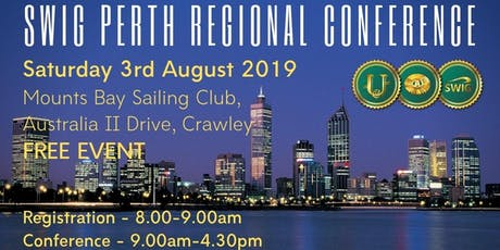 SWIG August 2019 PERTH Regional Conference tickets