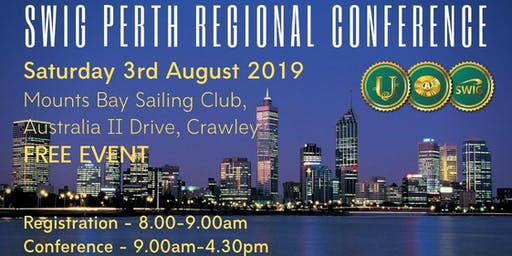 SWIG August 2019 PERTH Regional Conference