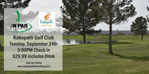 On Par Golf Networking September Kokopelli Event