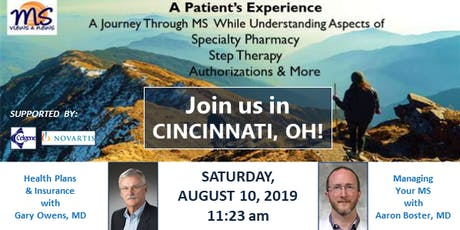 MULTIPLE SCLEROSIS Event in Cincinnati, OH: An MS Patient's Experience tickets
