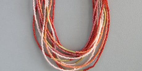 Multi Strand Beaded Necklace Workshop tickets