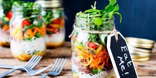 Salad In A Jar & Smoothie Party