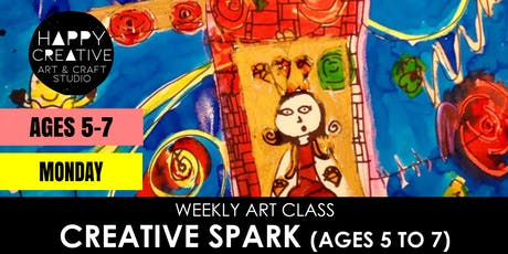 Creative Spark (Ages 5 to 7) - MONDAY CLASS tickets