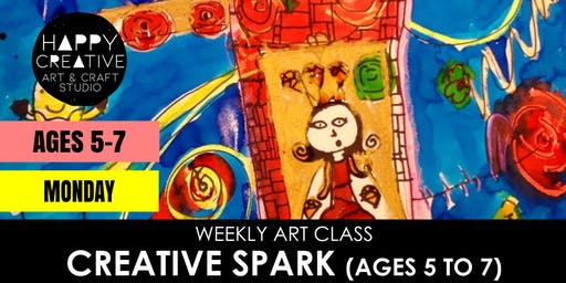 Creative Spark (Ages 5 to 7) - MONDAY CLASS