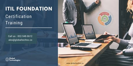 ITIL Certification Trainingin Davenport, IA tickets