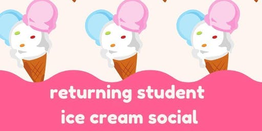 Returning Student Ice Cream Social