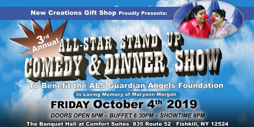 3rd Annual All-Star Stand Up Comedy & Dinner Show - ALS Guardian Angels