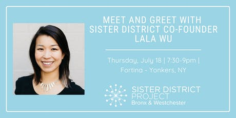 Meet-and-Greet with Sister District Co-Founder, Lala Wu tickets