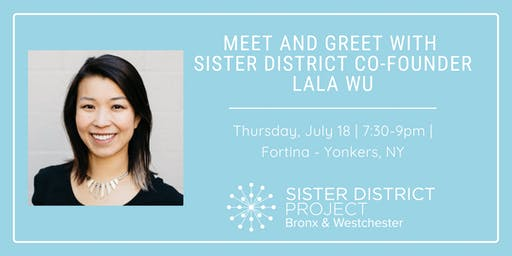 Meet-and-Greet with Sister District Co-Founder, Lala Wu