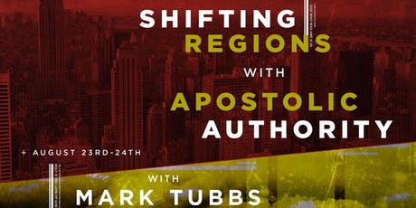 Shifting Regions with Apostolic Authority tickets