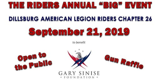 Riders Annual Big Event to Benefit the Gary Sinise Foundation