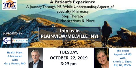 MULTIPLE SCLEROSIS Event in Plainview/Melville, NY: A Patient's Experience tickets