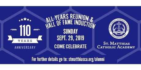 St. Matthias Alumni 110th Anniversary - Sunday - Ridgewood, NY tickets