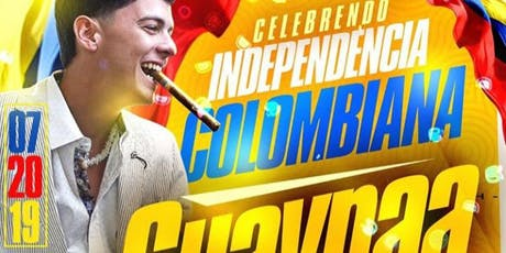 GUAYNAA EN VIVO :: COLOMBIAN INDEPENDENCE DAY CELEBRATION :: FIND THE PARTY tickets