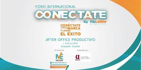 CONECTATE CON TU MARCA Y LOGRA EL EXITO - I EDICION - GUAYAQUIL entradas