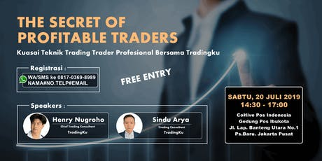 THE SECRET OF PROFITABLE TRADERS tickets