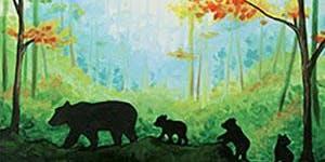 Paint and Sip Lake Osoyoos: Mama Bear