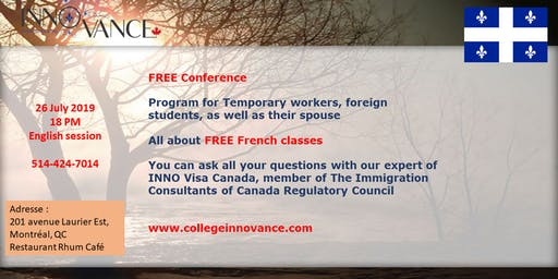 French & Immigration - English session