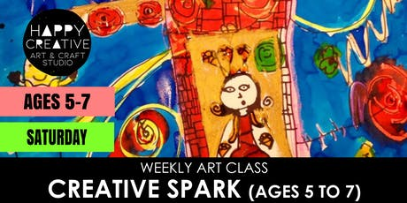 Creative Spark (Ages 5-7) - SATURDAY CLASS tickets