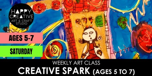 Creative Spark (Ages 5-7) - SATURDAY CLASS