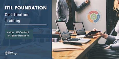 ITIL Certification Trainingin Medford,OR tickets