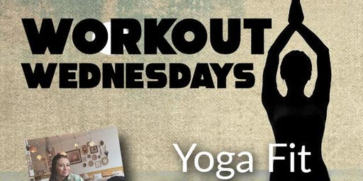 Workout Wednesdays: Yoga Fit @ 4:30pm (University)