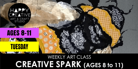 Creative Spark (Ages 8 to 11) - TUESDAY CLASS tickets
