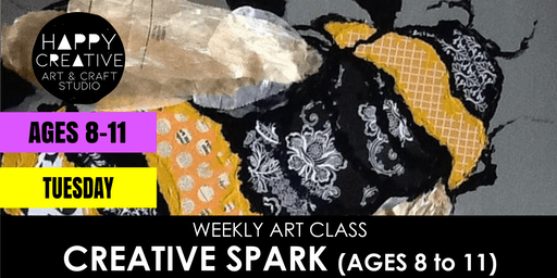 Creative Spark (Ages 8 to 11) - TUESDAY CLASS