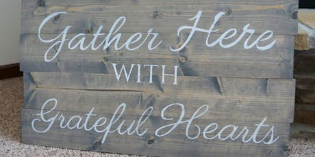 Paint Your Own Slat Wood Sign or Personalized Sign Workshop tickets