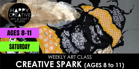 Creative Spark (Ages 8 to 11) - SATURDAY CLASS tickets