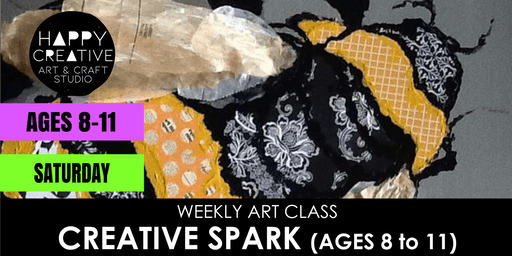 Creative Spark (Ages 8 to 11) - SATURDAY CLASS
