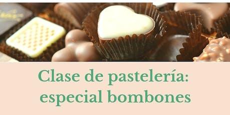 Clase de pastelería: Especial Bombones! entradas