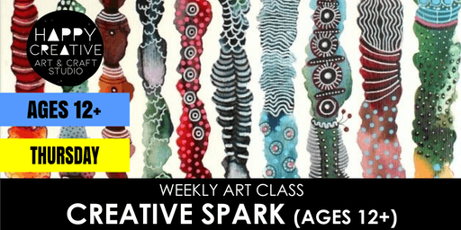 Creative Spark (Ages 12+) - THURSDAY CLASS