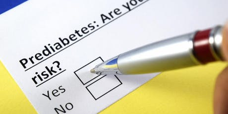 Pre Diabetes Prevention tickets