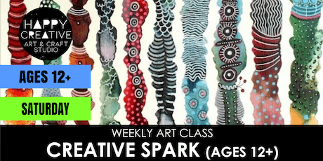 Creative Spark (Ages 12+) - SATURDAY CLASS tickets