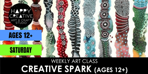 Creative Spark (Ages 12+) - SATURDAY CLASS
