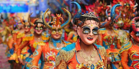 Fiesta of Fearless. Carnival Mask Making Workshop at Hola Melbourne  tickets